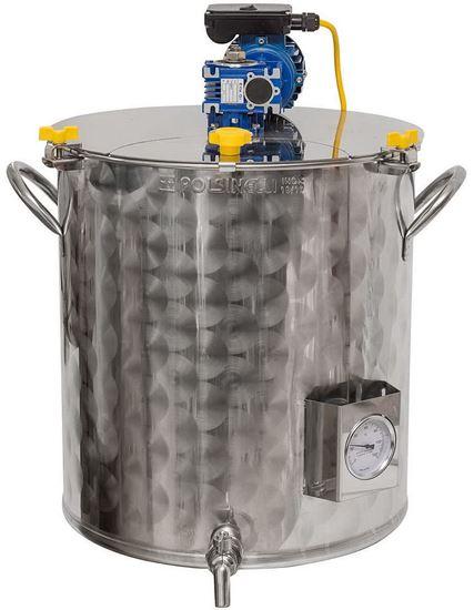 Bild von Braukessel Edelstahl 35 Liter mit Rührwerk 220 V