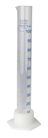 Bild von Messzylinder aus Glas 100 ml