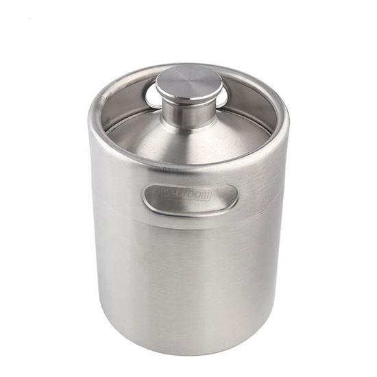 Bild von Mini Keg Edelstahl 5 Liter