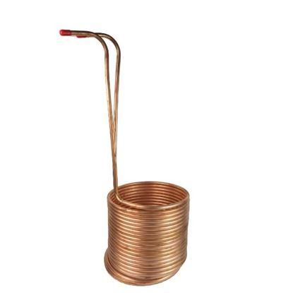Bild von Würzekühler 50 Liter Tauchmodell Kupfer