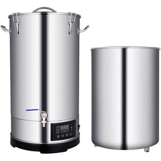 Bild von Braukessel elektrisch 60 Liter Edelstahl